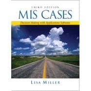 MIS Cases : Decision Making with Application Software
