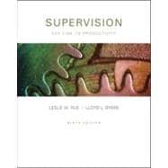 Supervision : Key Link to Productivity
