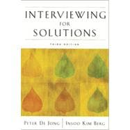 Interviewing for Solutions, 3rd Edition
