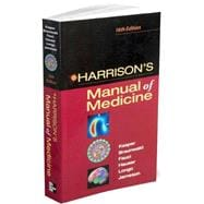 Harrison's Manual of Medicine: 16th Edition