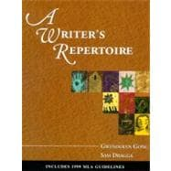 Writer's Repertoire with MLA Update Revised Edition, A