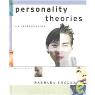 Personality Theories : An Introduction
