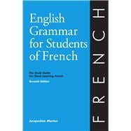 English Grammar for Students of French