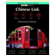 Chinese Link Simplified Level 1/Part 1