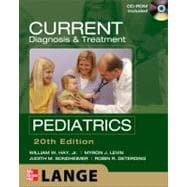 CURRENT Diagnosis and Treatment Pediatrics, Twentieth Edition
