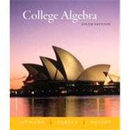 College Algebra, 6th Edition