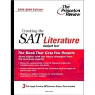 Cracking the SAT Literature Subject Test, 2005-2006 Edition