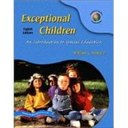 Exceptional Children: An Introduction to Special Education & OneKey Blackboard, Student Access Code Standard Package