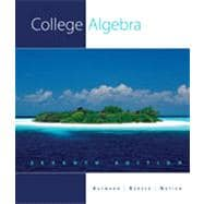 College Algebra, 7th Edition