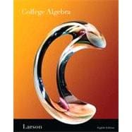 College Algebra, 8th Edition