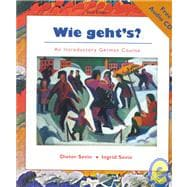 Wie Geht's? : An Introductory German Course, Text/Audio CD pkg.