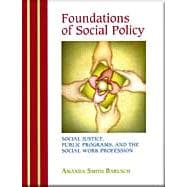 Foundations of Social Policy