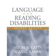 Language and Reading Disabilities (with AWHE Career Center Access Code Card)