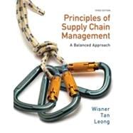 Principles of Supply Chain Management: A Balanced Approach, 3rd Edition