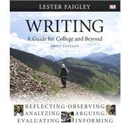 Writing: A Guide for College and Beyond, Brief Edition Value Package (includes MyCompLab NEW Student Access  )