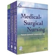 Medical-Surgical Nursing, Vols 1 & 2 + Study Guide + Cd-Rom: Patient-Centered Collaborative Care