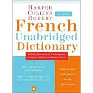 Harpercollins Robert French Unabridged Dictionary: French-English/English-French