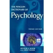 The Penguin Dictionary of Psychology Third Edition