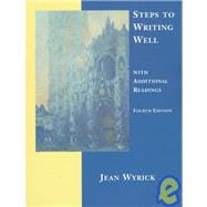 Steps to Writing Well : With Additional Readings (4th)