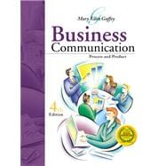 Business Communication : Process and Product