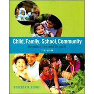 Child, Family, School, Community Socialization and Support