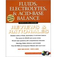 Fluids, Electrolytes, and Acid-Base Balance : Reviews and Rationales