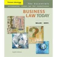 Cengage Advantage Books: Business Law Today The Essentials