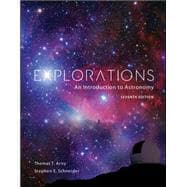 Package: Explorations: An Introduction to Astronomy with CONNECT Plus Access Card