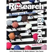 Research Methods, Design, and Analysis Plus MysearchLab with eText -- Access Card Package