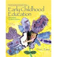Introduction to Early Childhood Education, 6th Edition