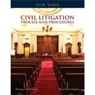 New York Civil Litigation : Process and Procedures