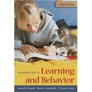 Introduction to Learning and Behavior, 3rd Edition