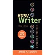 EasyWriter with 2009 MLA Update: A Pocket Reference