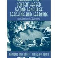 Content-Based Second Language Teaching and Learning : An Interactive Approach, MyLabSchool Edition