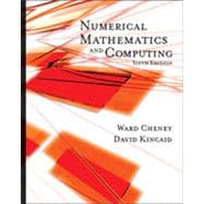 Numerical Mathematics and Computing, 6th Edition