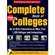Complete Book of Colleges, 2000 Edition