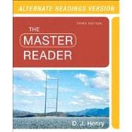 The Master Reader, Alternate Edition with NEW MyReadingLab with eText -- Access Card Package