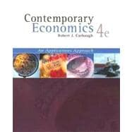 Contemporary Economics With Infotrac: An Application Approach