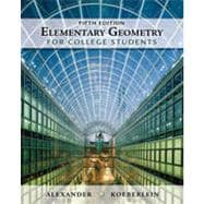 Elementary Geometry for College Students, 5th Edition