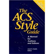The ACS Style Guide A Manual for Authors and Editors