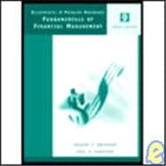 Fundamentals of Financial Management: Blueprints: A Problem Notebook