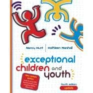 Exceptional Children and Youth Update