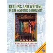 Reading and Writing in the Academic Community with 2001 APA Guidlines