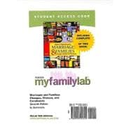 MyFamilyLab with Pearson eText -- Standalone Access Card -- for Marriages and Families