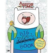 Big Dude-L Book An Adventure Time Doodle Book