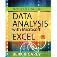 Data Analysis with Microsoft Excel Updated for Office 2007 (with Web Site Printed Access Card)