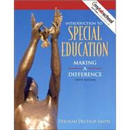 Introduction to Special Education : Making a Difference