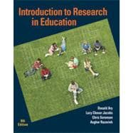 Introduction to Research in Education, 8th Edition