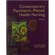 Contemporary Psychiatric-Mental Health Nursing with DSM-5 Transition Guide Plus NEW MyNursingLab with Pearson eText -- Access Card Package