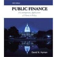 Public Finance, 10th Edition